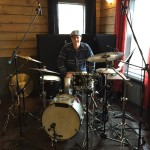 drums in studio